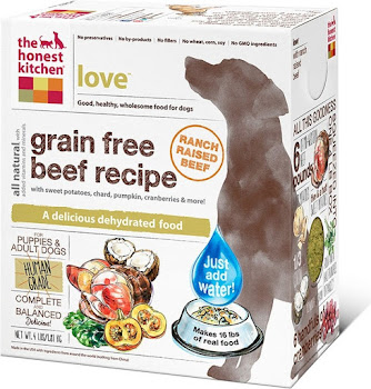 The Honest Kitchen Dehydrated Grain Free Dog Food - Beef Recipe
