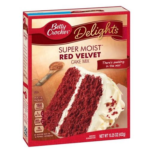 Mezcla Betty Crocker Torta Red Velvet 432Gr Mezcla Para Torta Red Velvet