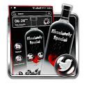 Black Bottle Launcher Theme icon