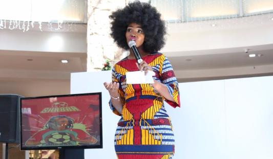 Bokang And Siphiwe Tshabalala Launch African Inspired Kids Clothes