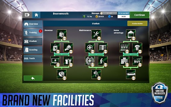 Soccer Manager 2018 (Kiadatlan) APK screenshot thumbnail 13