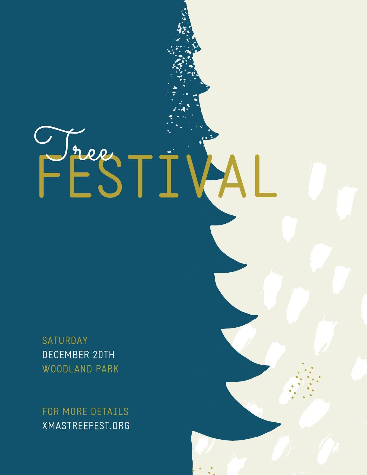 Tree Festival - Christmas Template