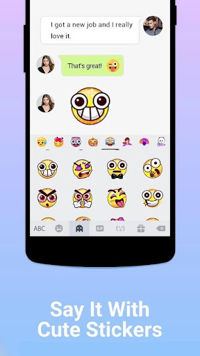 Kika Keyboard - Emoji Keyboard, Emoticon, GIF screenshot 4