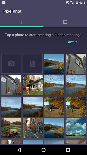 PixelKnot: Hidden Messages 1.0.1 screenshots 1