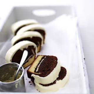 Black and White Cinnamon Layer Cake.