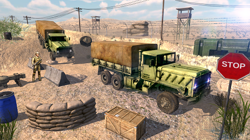 US Army Transport Drive - Army Games screenshots 12