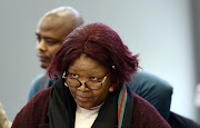 Former ANC MP, Vytjie Mentor during her testimony at the state capture commission in Parktown, Johannesburg.