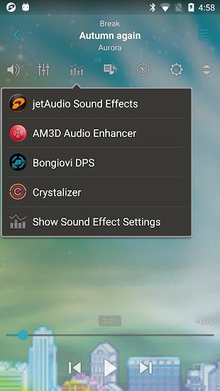 jetAudio HD Music Player Plus- screenshot thumbnail
