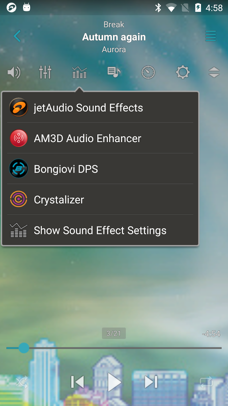 jetAudio HD Music Player Plus Screenshot 3