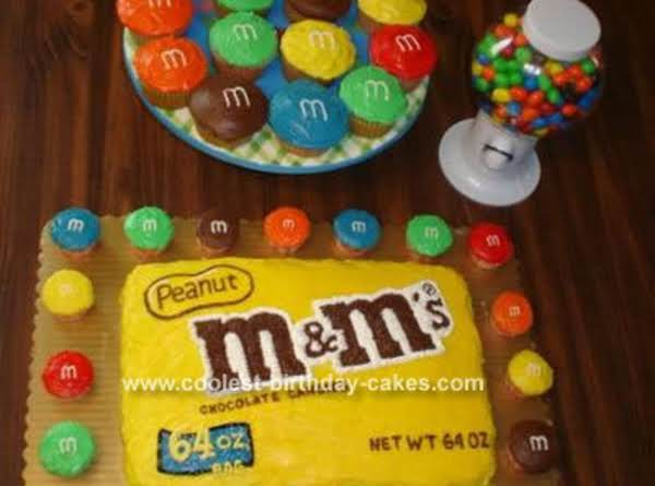 M&m Birthday Cake Recipe
