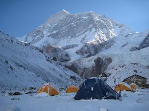 Photo: Makalu base camp 4800m