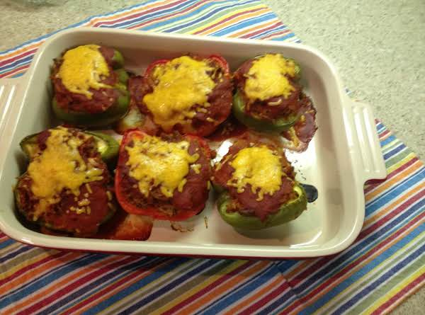 Rotel Stuffed Peppers