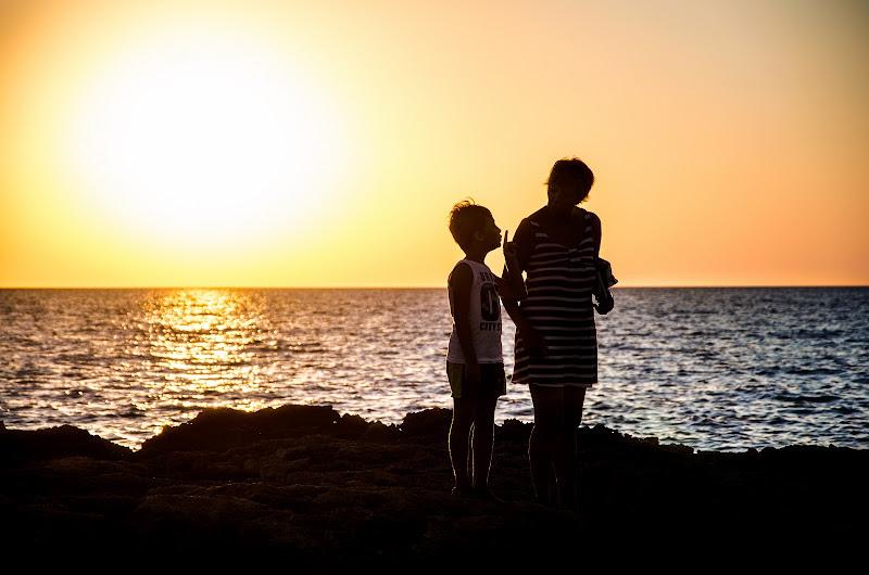 Silenzio! Godiamoci il tramonto di Primula Vico