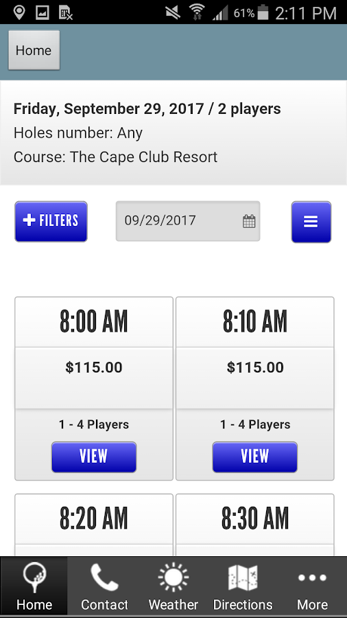 The Cape Club- screenshot