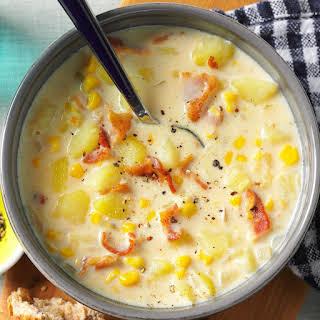 Bacon-Potato Corn Chowder.