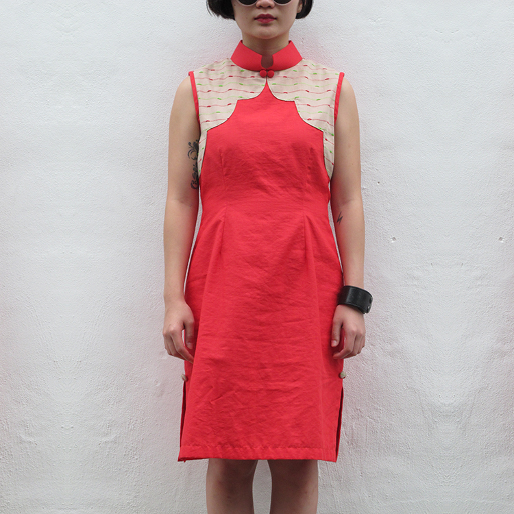 Yun Qipao Red Medium