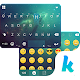 Green Galaxy Keyboard Theme Download on Windows