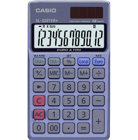 Räknare Casio SL-320TER+