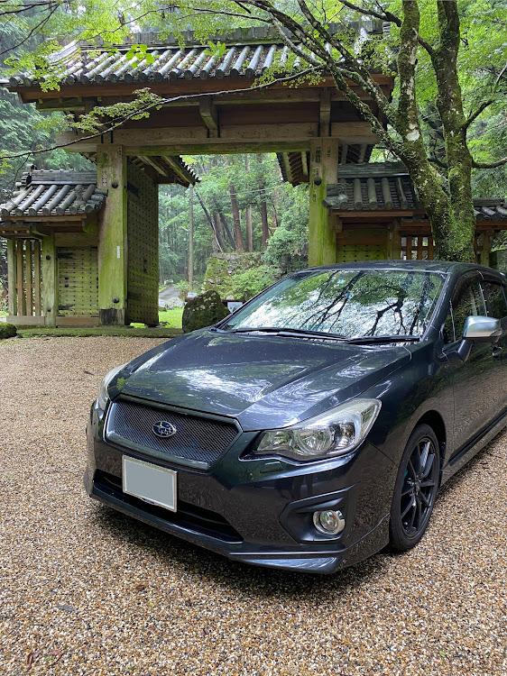 インプレッサ スポーツ GP6の談山神社 東大門,自然を感じる,雨だけどに関するカスタム&メンテナンスの投稿画像1枚目
