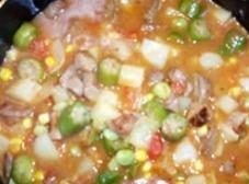 Becky's Southern Ham Bone Vegetable Soup Recipe