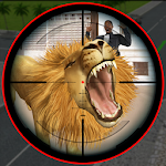 Monster Lion Attack in City 3D 1.0 Apk