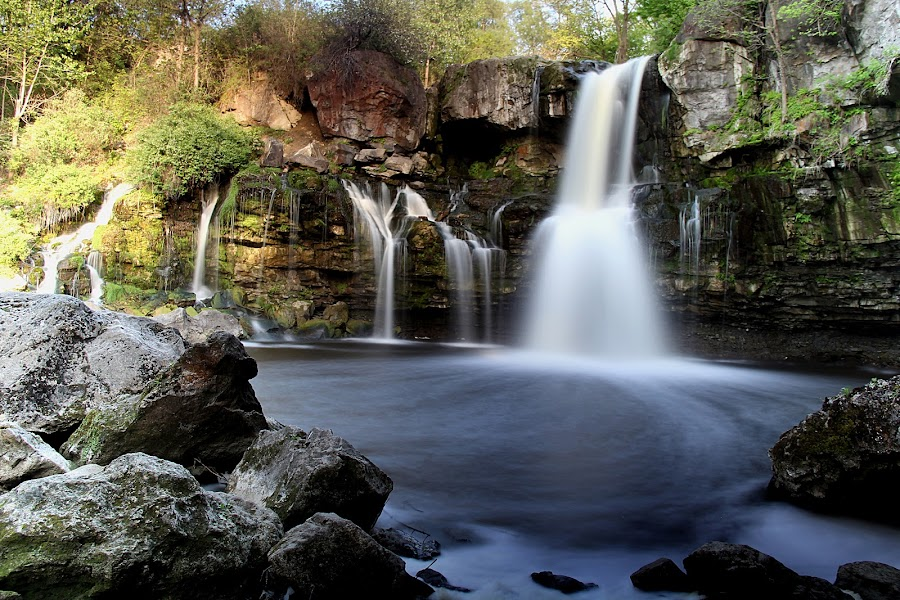 Akron Falls. by Roxane Vanelli - Landscapes Caves & Formations (  )