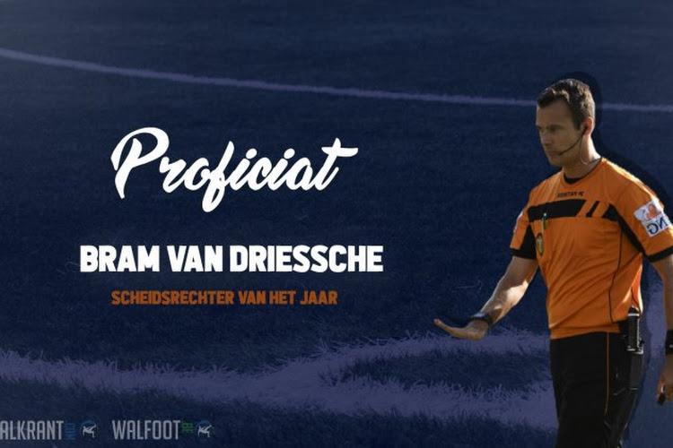 Bram Van Driessche is onze eerste Scheidsrechter van het Jaar