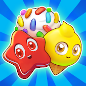 Candy Riddles: Gratis Match 3 Puzzel icon