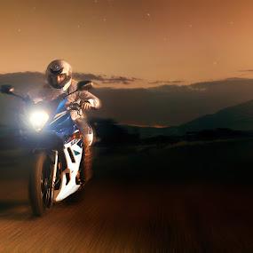My Leg Hurts by Braxton Wilhelmsen - Transportation Motorcycles