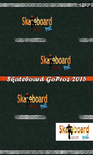 Skateboard GoProz 2015