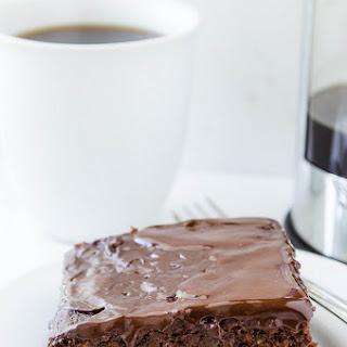 Chocolate Zucchini Cake (Gluten Free)