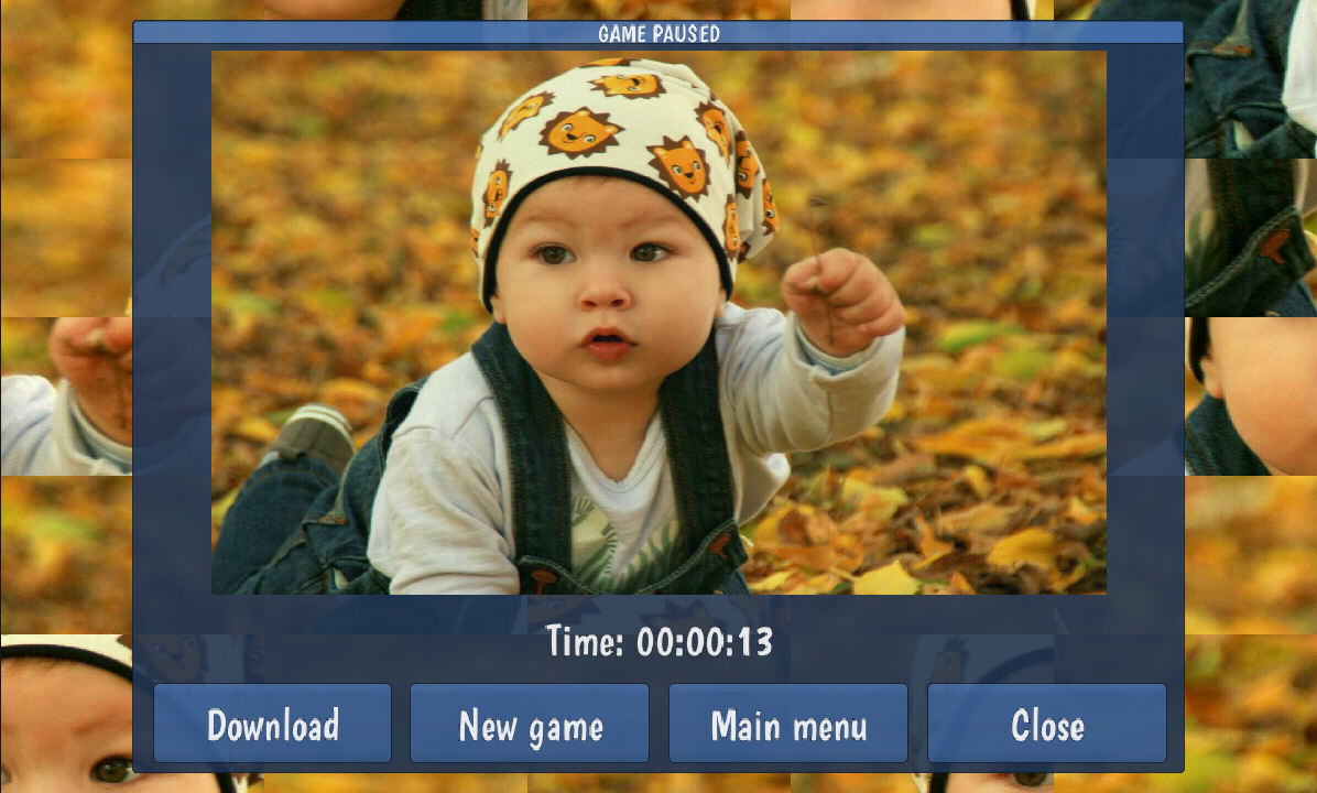 Tile Puzzles Babies Apl Android Di Google Play