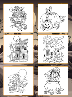 My Halloween Coloring BookColoring Game