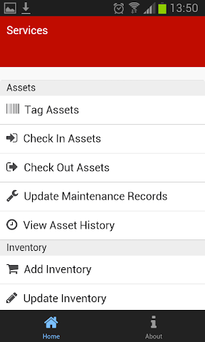 android Asset & Inventory Tracker Screenshot 1
