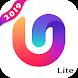 U Launcher Lite-新しい3Dランチャー2019、アプリを隠す