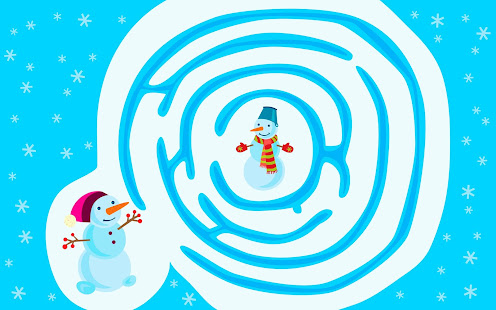 Winter - kids educational game - náhled
