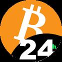 Crypto coin map icon