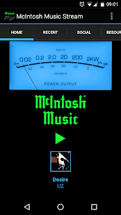 McIntosh Music Stream- screenshot thumbnail
