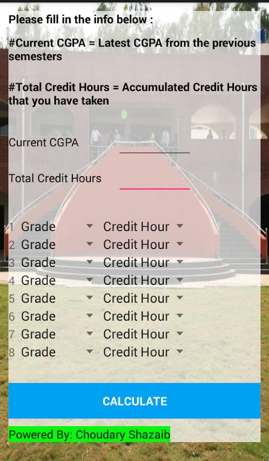 Gpa calculator izinhlelo ze android ku google play gpa calculator isithombe skrini ccuart Image collections