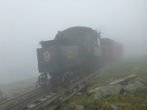 Photo: Cog RR in the morning fog