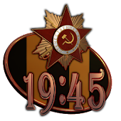 Victory Day Clock