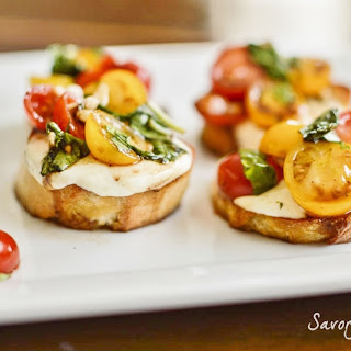 Bruschetta with Cheese Recipe