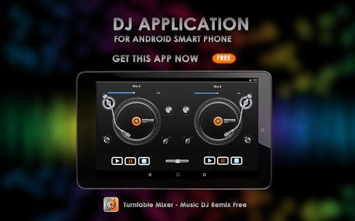 Turntable Mixer - Music DJ