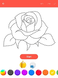 How To Draw Flowers APK screenshot thumbnail 9