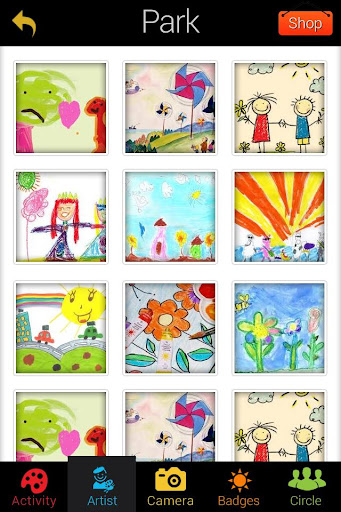 玩免費遊戲APP|下載Save and Print Kids Artwork app不用錢|硬是要APP