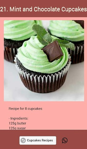 android Cupcakes Recipes Screenshot 15