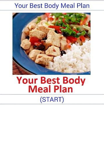 你最好的身體膳食安排