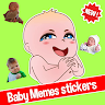 download 👶 Cute baby memes stickers - New WAStickerApps apk
