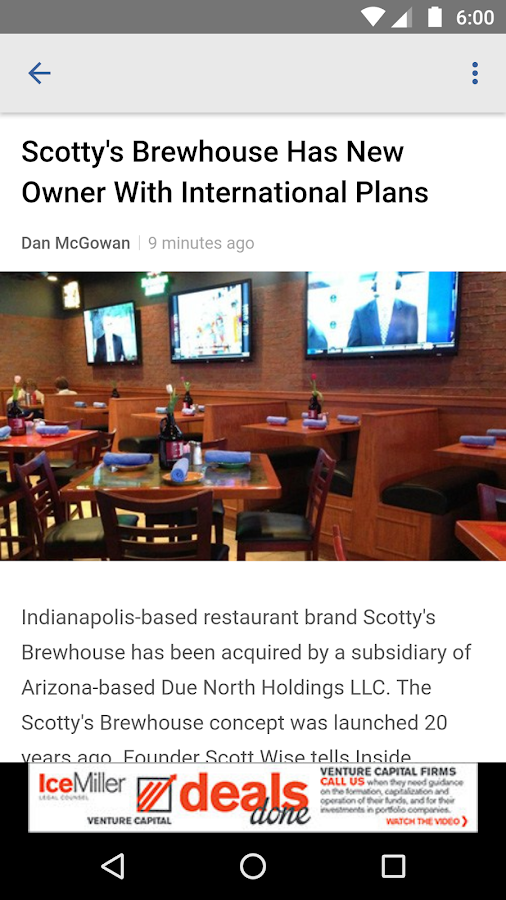 Inside INdiana Business- screenshot