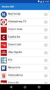 Novine BiH- screenshot thumbnail